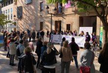 Catarroja es concentra amb motiu del 25N per a dir 'PROU' a la violència contra les dones
