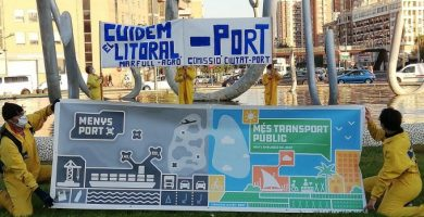 La Comissió Ciutat-Port presenta un manifest davant l'ampliació del Port de València