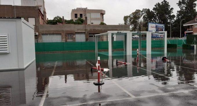 Las lluvias torrenciales dejan sin clases a  24.500 alumnos de la Ribera