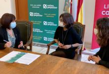Catarroja signa un conveni amb Caixa Popular per a injectar capital en la ciutadania i el xicotet comerç