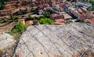 La Diputación interviene en la ladera norte de Ademuz