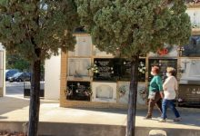 El cementeri de Paterna rep un 84% menys de visitants que en anys anteriors