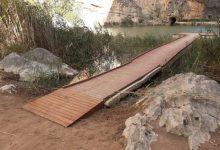 """El paratge natural """"Los Calderones"""" de Chulilla ja és un itinerari accesible"""