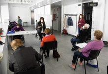 Cartelleria contra la violència masclista en els tallers per a l'envelliment actiu de Paiporta
