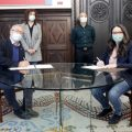 """Oltra y Ribó firman el convenio """"València inclou"""" para facilitar la inclusión social de personas migrantes por 220.000 euros"""