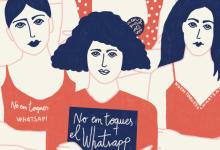 L'exposició #Noemtoqueselwhatsapp de l'IVAJ arriba al novembre a 13 municipis de la Comunitat per a denunciar la violència contra dones