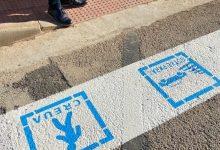Els passos de vianants de Burjassot compten amb frases educatives i pictogrames dirigits a persones amb TEA