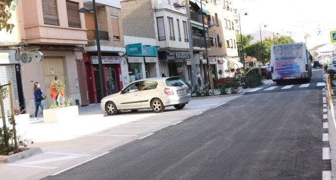 Quart de Poblet continúa los trabajos de mejora de la accesibilidad en el barrio Río Turia