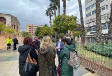 Burjassot dona per finalitzada l'obra d'emergència del mur del Pati de los Silos i obri el passeig Concepción Arenal
