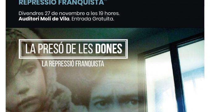 """Quart de Poblet proyecta el documental de memoria democrática """"La presó de les dones. La repressió franquista"""""""