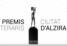 Els Premis Literaris Ciutat d'Alzira es lliuren en streaming