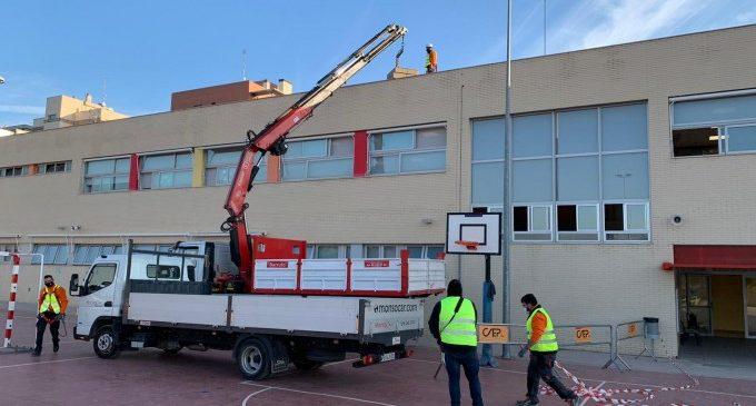 Cinc centres educatius de Paterna, cap a l'autosuficiència energètica