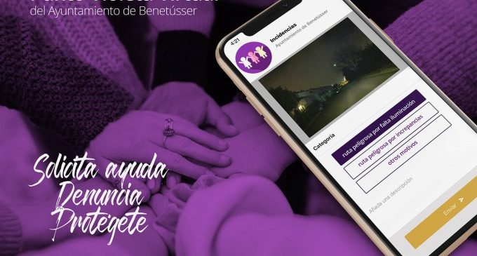 Benetússer activa el seu Punt Violeta Virtual