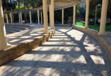 Foios millora l'accessibilitat de l'amfiteatre del Parc Rei en Jaume