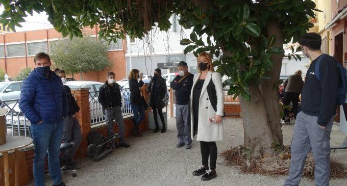 Finalitza a Xàtiva el taller de rehabilitació, manteniment i pintura d'edificis municipals del programa T'acompanye 2020