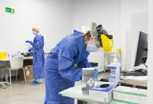 La Comunitat Valenciana registra un lleu descens amb 1419 nous casos de coronavirus