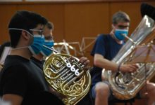 La Banda Simfònica municipal de València interpreta un repertori de peces al voltant de les grans pàgines de l'òpera i de la sarsuela
