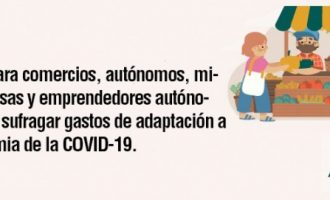 Sedaví concede ayudas para comercios, autónomos y microempresas para sufragar los gastos de adaptación a la pandemia de la COVID-19
