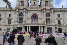 """Una concentración en València reivindica una """"salida social, ecológica y libre de violencias machistas"""" de la pandemia"""