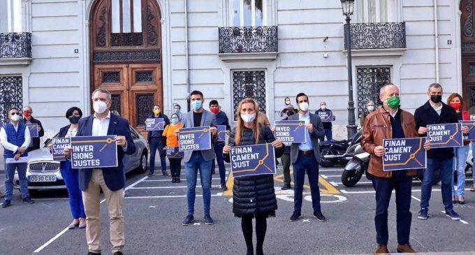 La societat civil valenciana torna a exigir una reforma immediata del finançament per quart any consecutiu