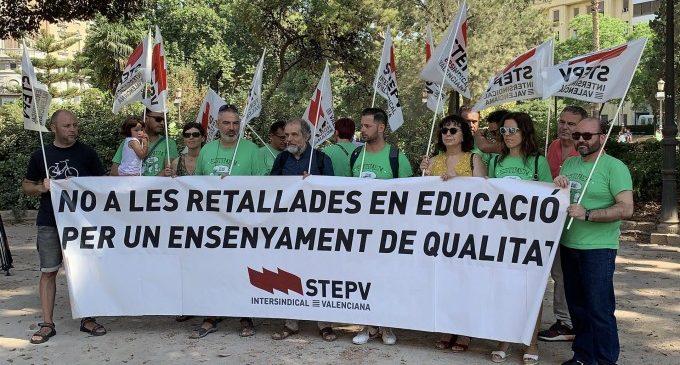 STEPV convoca una vaga el 10 de desembre contra l'avançament al mes de maig de la convocatòria d'oposicions