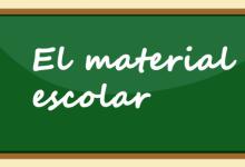 El material escolar: aprén noves paraules en valencià