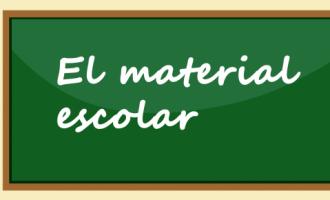 El material escolar: aprende nuevas palabras en valenciano