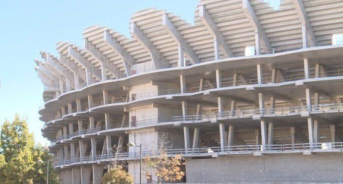 El València demana la pròrroga de l'ATE i afirma que podria reprendre les obres del Nou Mestalla en 2024
