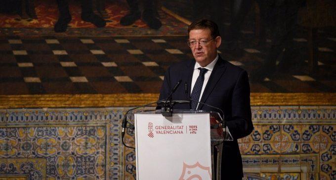 """Puig afirma que la Comunitat Valenciana """"no està en aquests moments en situació"""" d'adoptar el confinament domiciliari"""