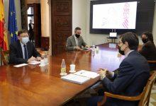 Puig destaca la voluntat del Consell de participar activament en l'itinerari traçat per la UE per a la recuperació econòmica