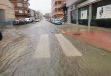 El temporal colpeja amb duresa el sud de València