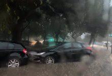 Les tempestes deixen de matinada pluges de prop de 30 l/m² i vents de 90 quilòmetres per hora
