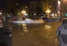 Una veintena de carreteras valencianas siguen cortadas por el temporal
