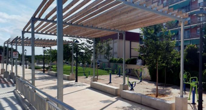 Noves pèrgoles fotovoltaiques subministraran electricitat a tres edificis municipals de Benimàmet