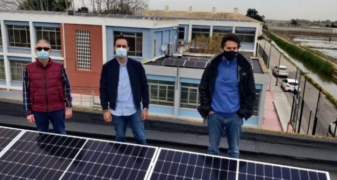 El Palmar estrena sistema fotovoltaic amb 134 panells