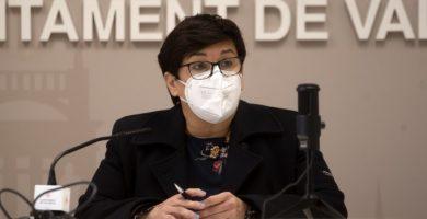 Luisa Notario presenta el nuevo contrato de mantenimiento del alumbrado público de València