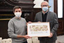 Ribó felicita las Navidades con una tarjeta del artista valenciano Paco Roca, Premio Nacional del Cómic
