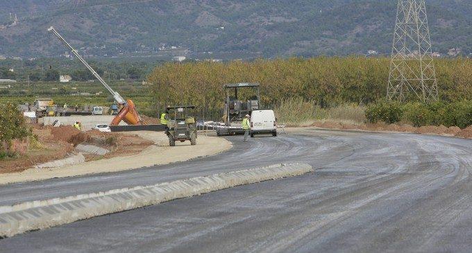 La Diputació inicia l'asfaltatge de la primera fase de la Variant de Bétera que evitarà el col·lapse en el municipi