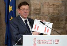 Ximo Puig destaca que el Govern ha distribuït els fons europeus React amb 'criteris europeus i constitucionals' per a 'afavorir la convergència entre les comunitats'