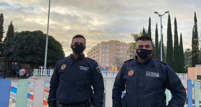 La Policia Local de Foios deté a una parella dedicada al furt d'objectes personals
