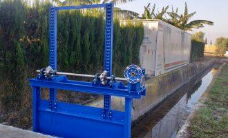 Puçol mejora las infraestructuras hidráulicas del Marjal dels Moros para mantener las especies protegidas