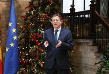 """Puig pide a los valencianos """"máxima prudencia"""" en Navidad para """"no dejar una silla vacía para siempre"""""""