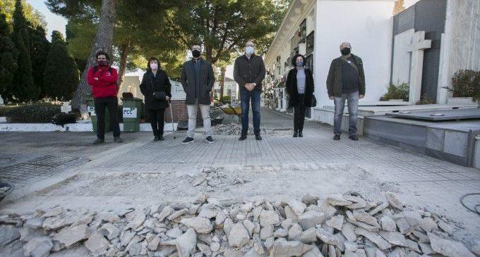 Gandia inicia les excavacions al cementeri per a localitzar les fosses amb les restes de més de 60 víctimes del franquisme