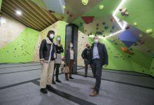 Gandia amplia la seua oferta esportiva amb un rocòdrom d'última generació
