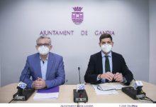 Gandia rep 260.000 € de la Conselleria d'Economia Sostenible per a ajudes urgents al comerç i l'artesania afectats per la Covid-19
