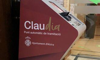 El Ayuntamiento de Alzira instala un nuevo Punto Automático de Tramitación