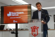 Xàtiva rep una subvenció de 300.000 euros pel programa d'ajudes del Reactivem