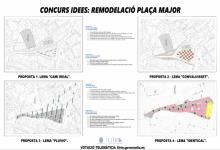 Llíria obri la votació per a triar el nou disseny de la plaça Major