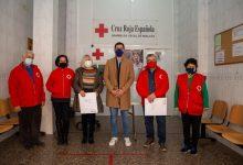 L'Ajuntament de Mislata dona 30 tones d'aliments no peribles a Creu Roja