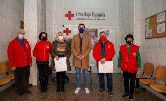 El Ayuntamiento de Mislata dona 30 toneladas de alimentos no perecederos a Cruz Roja